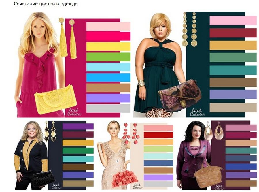 3 принципа подбора цвета одежды