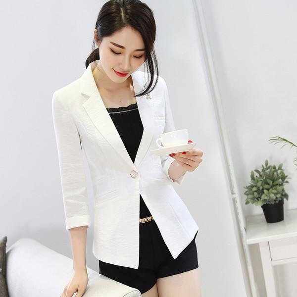 Белый изящный пиджак для девушки