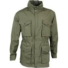 Брезентовая туристическая куртка