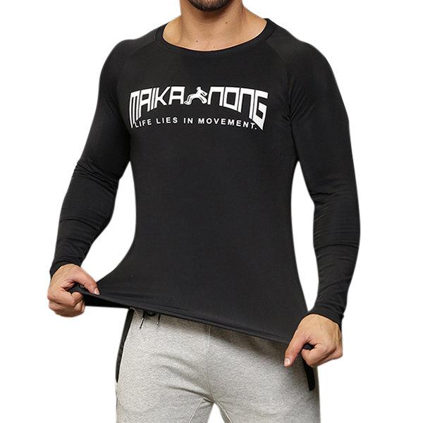 Быстросохнущая спортивная одежда с длинными рукавами