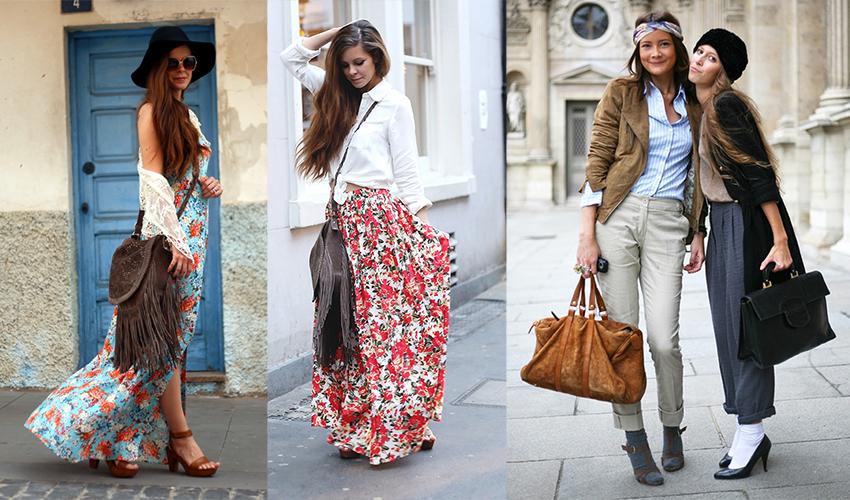 Чем отличается современный стиль бохо в одежде