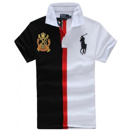 Черная одежда с белыми вставками