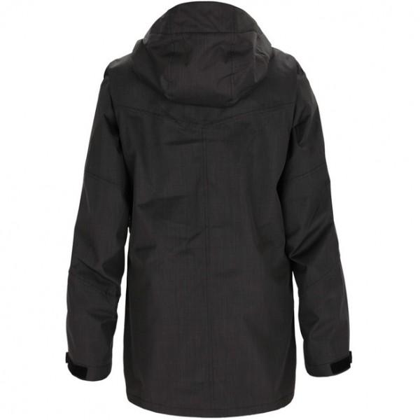 Черная туристическая куртка Zimtstern
