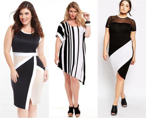 Черно-белая одежда