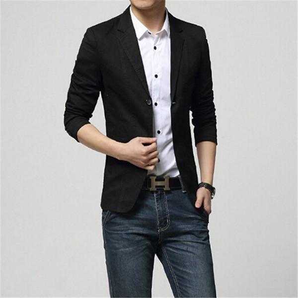 Черный пиджак под джинсы