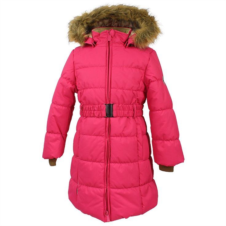 Детская верхняя одежда розового цвета