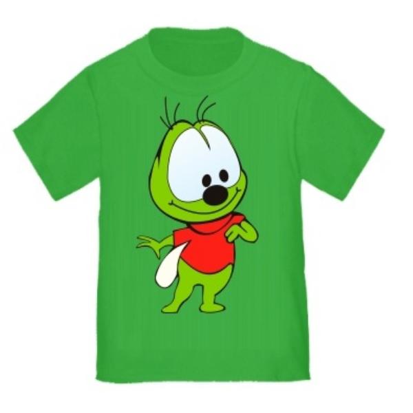 Детская зеленая футболка