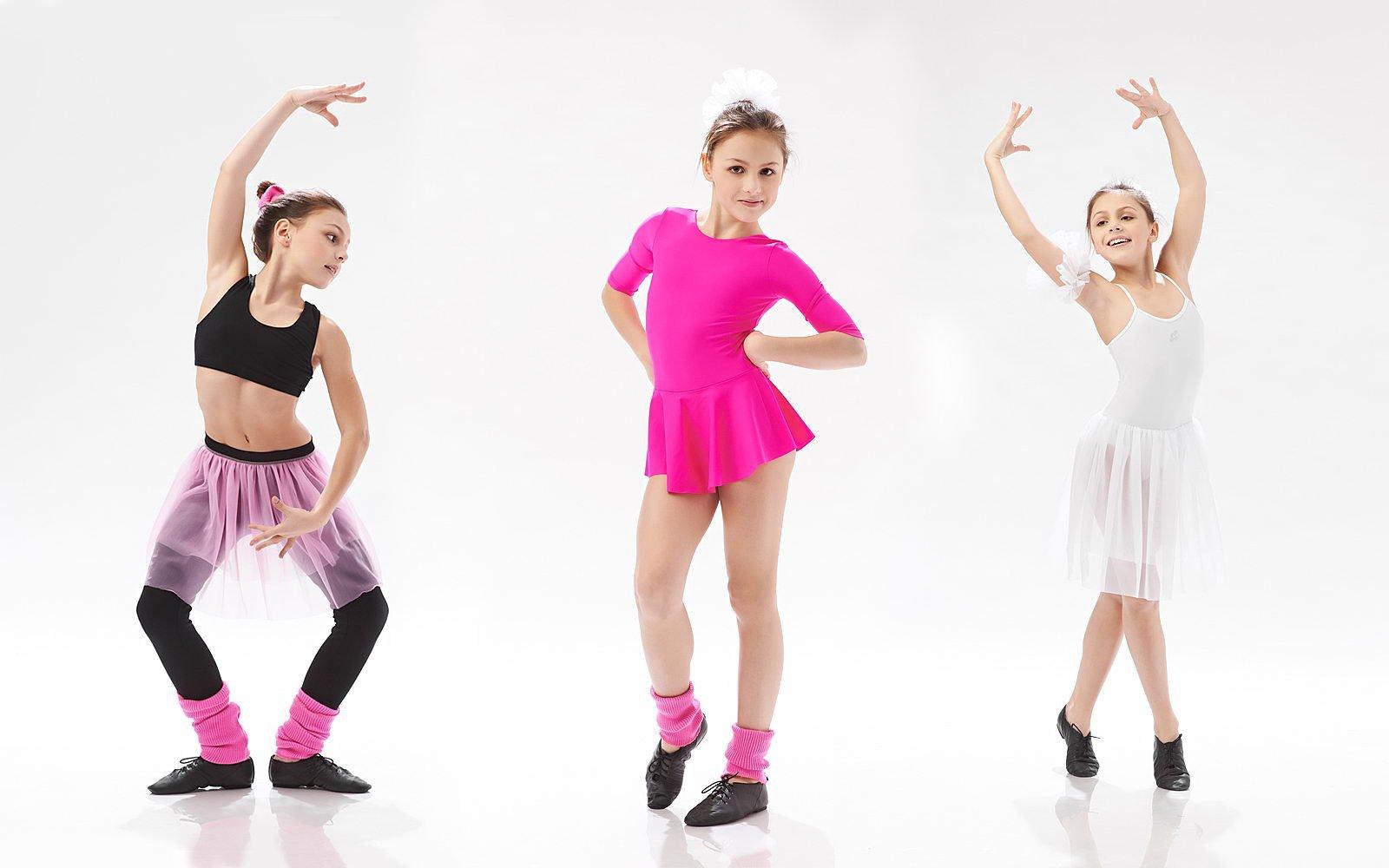 Детские гимнастические костюмы