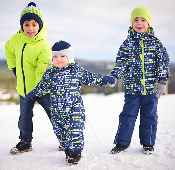 Детские костюмы для зимы