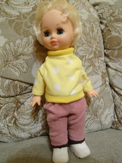 Домашний костюм для куклы