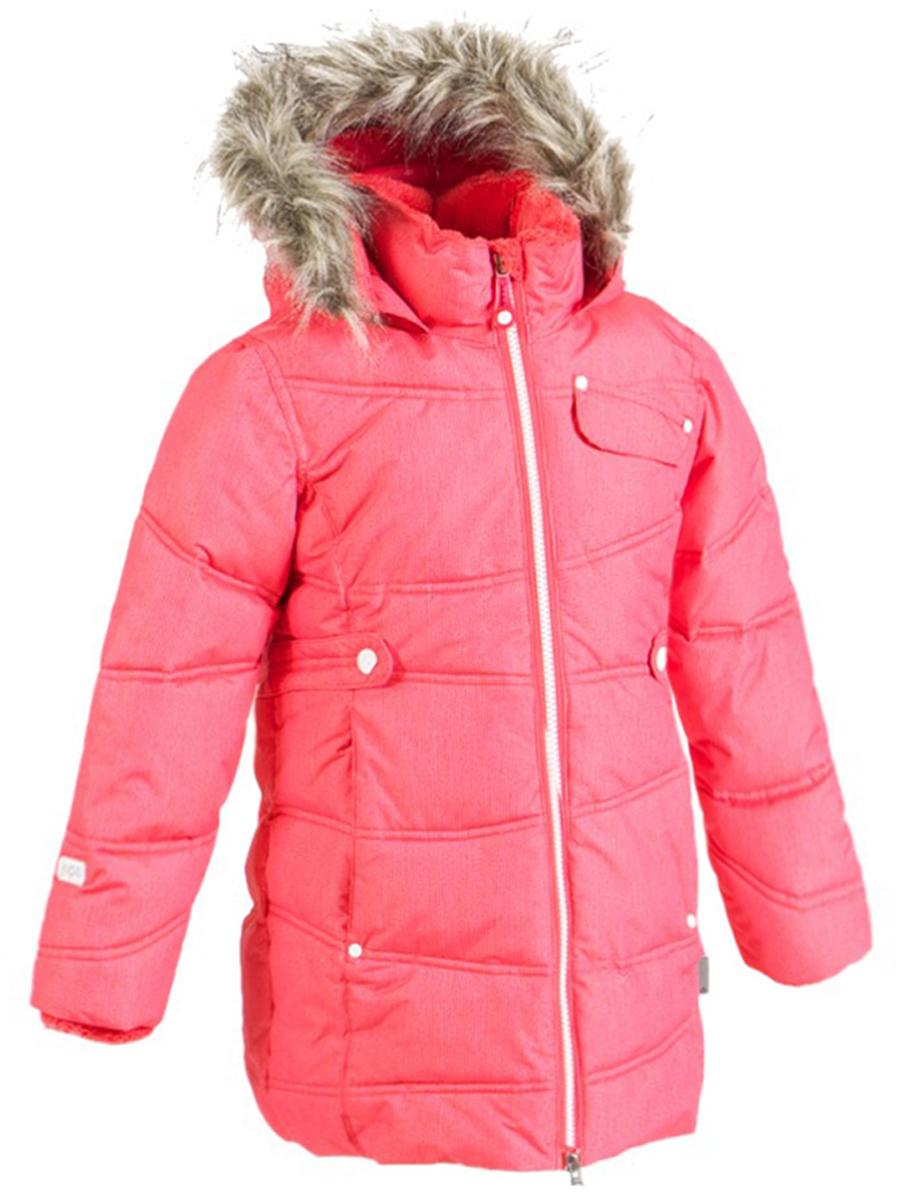 Дутое пальто для девочки