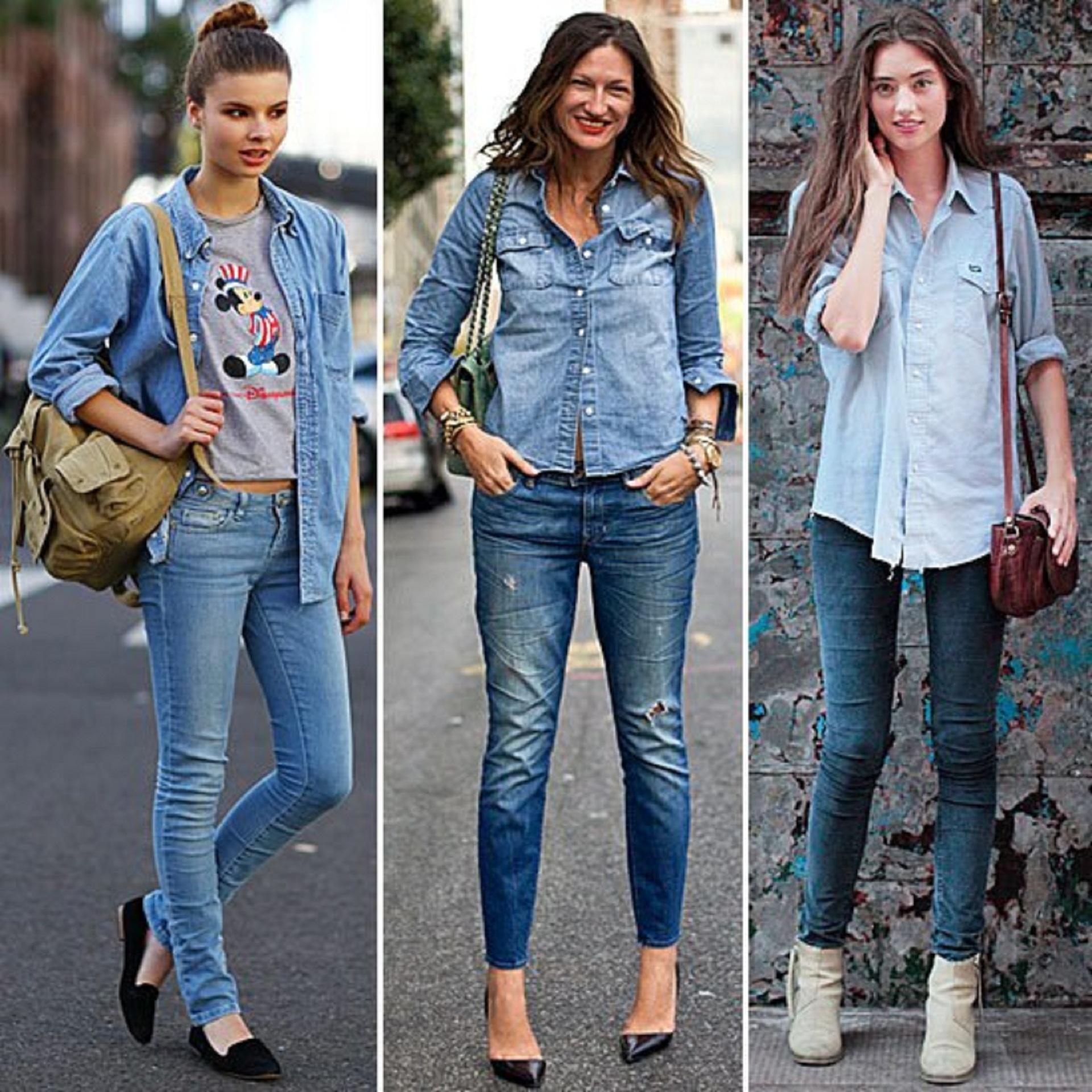 Джинсовая одежда для женщин