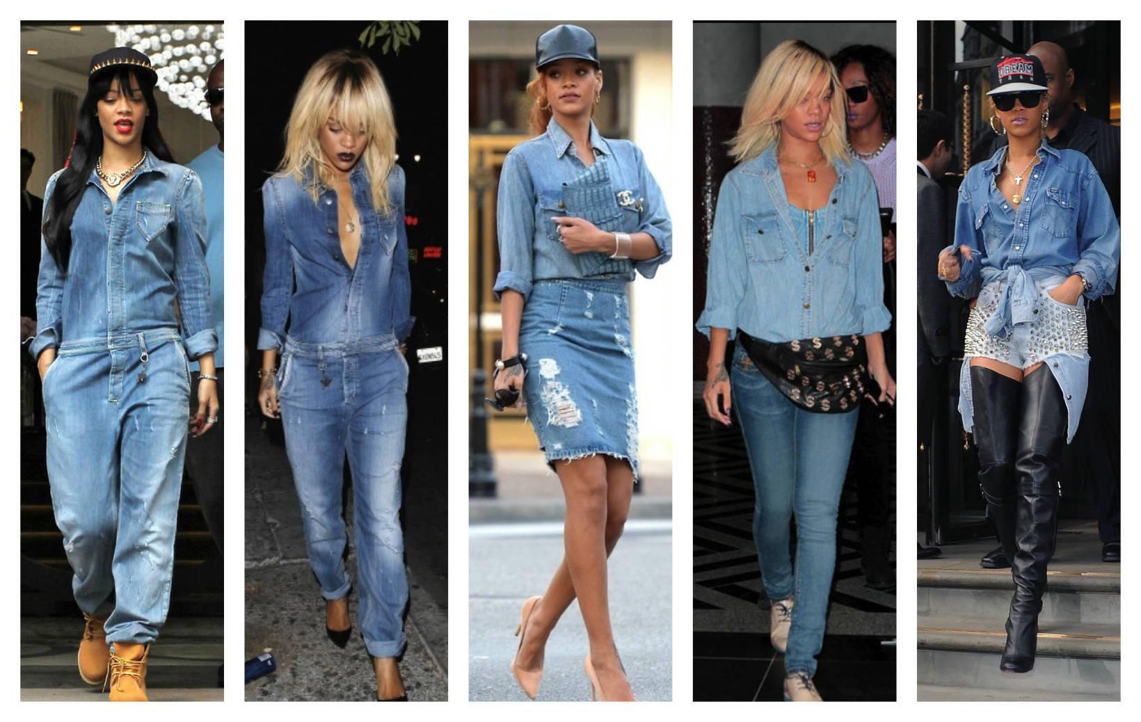 Джинсовый стиль одежды