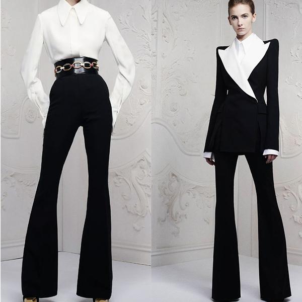 Элегантные длинные брюки