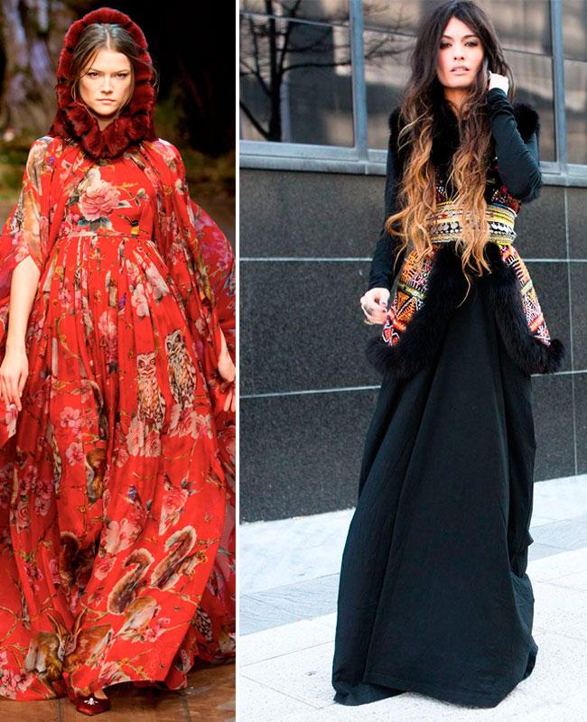 Этно стиль в современной моде