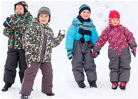 Финские куртки для мальчиков Kerry