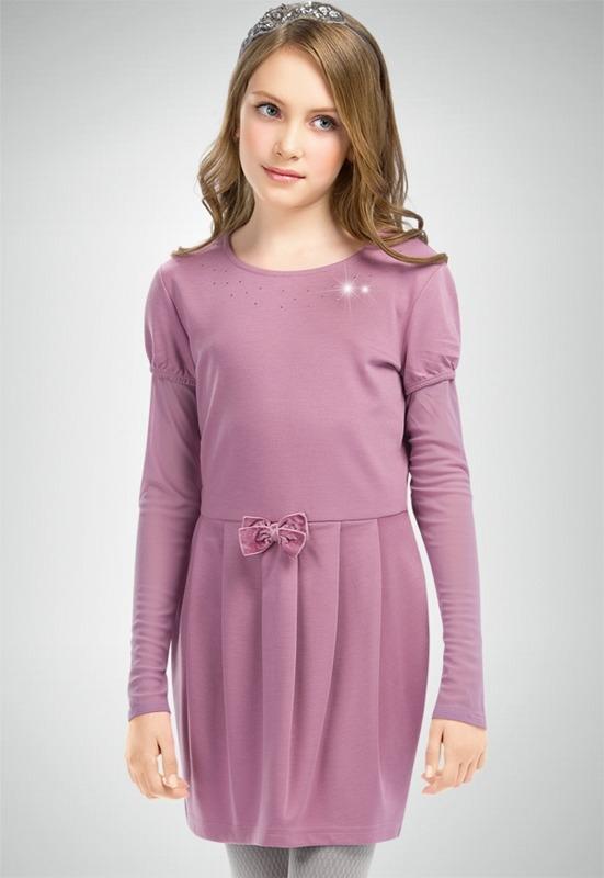 Фиолетовое платье для маленькой девочки