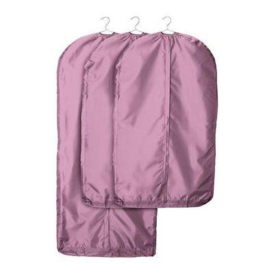 Фиолетовый чехол для одежды разного размера