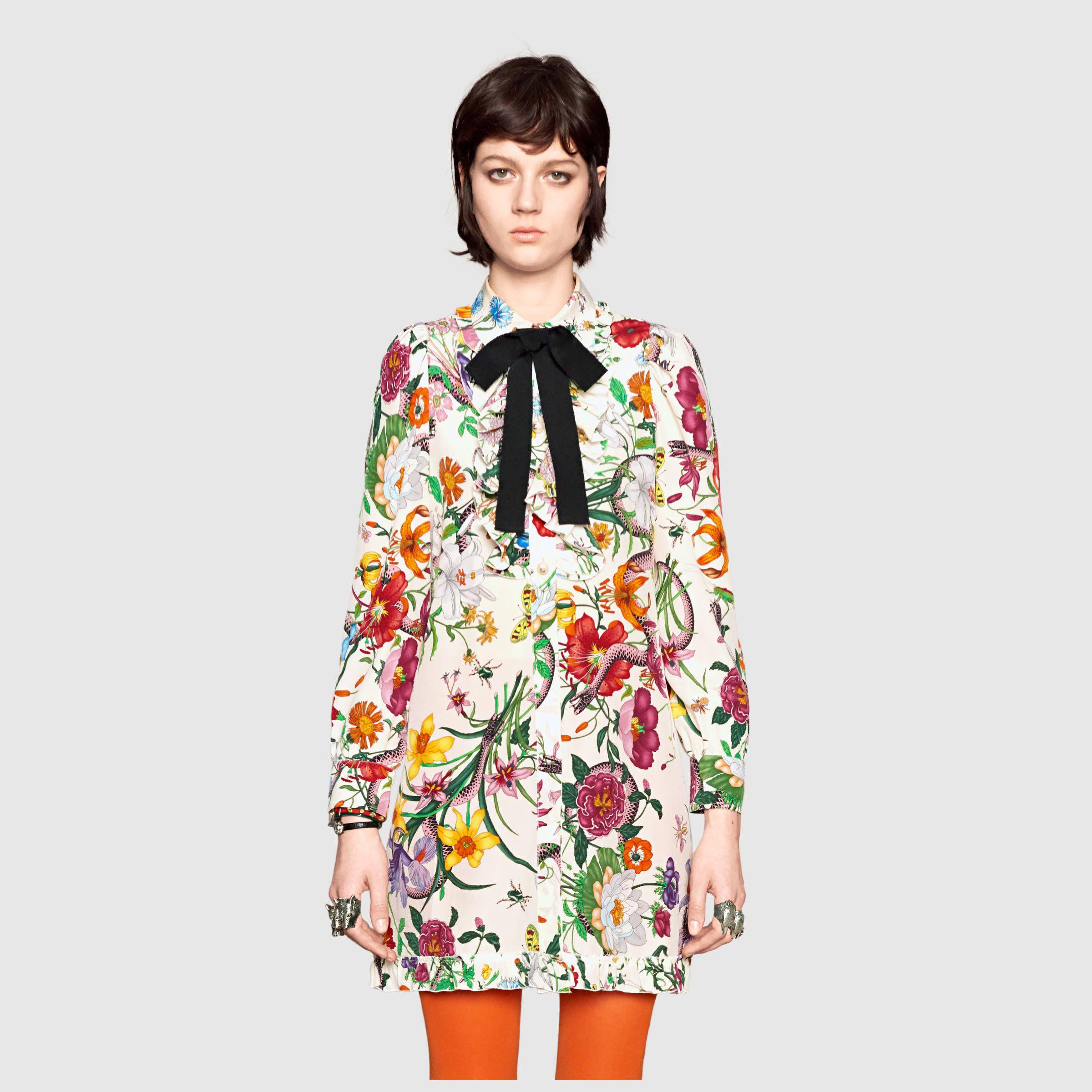 Флористические мотивы на одежде