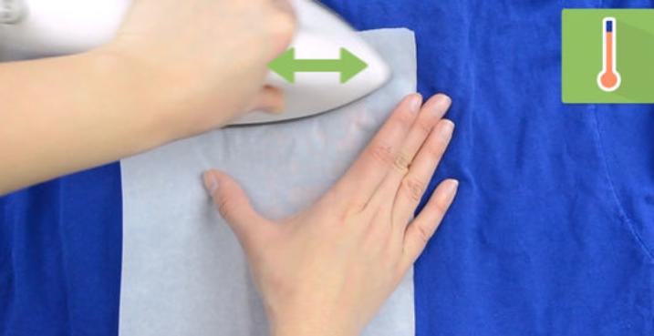 Гладим ткань правильно