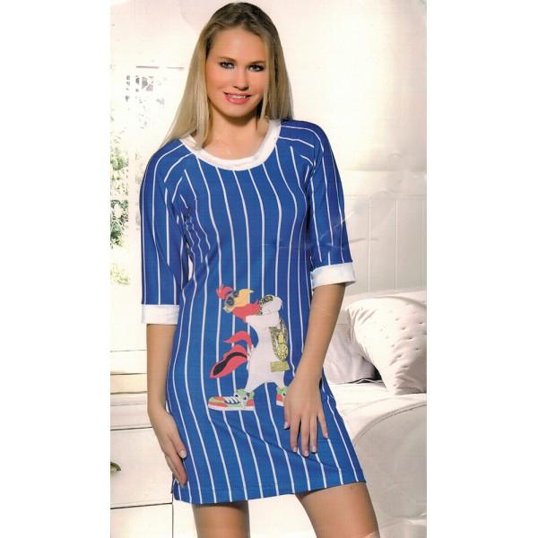 Голубое платье для дома