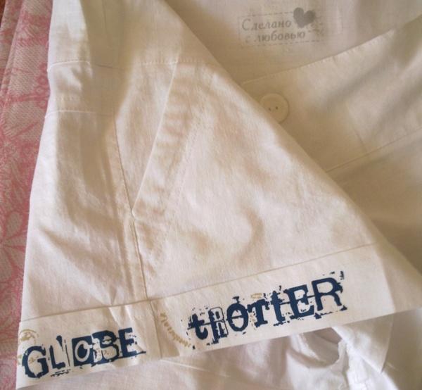 Готовая термическая наклейка для одежды