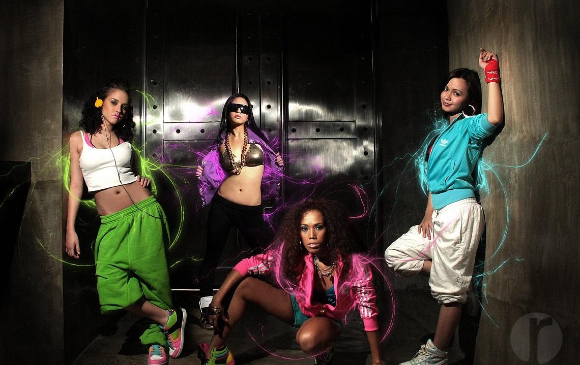 Хип хоп стиль в женской одежде