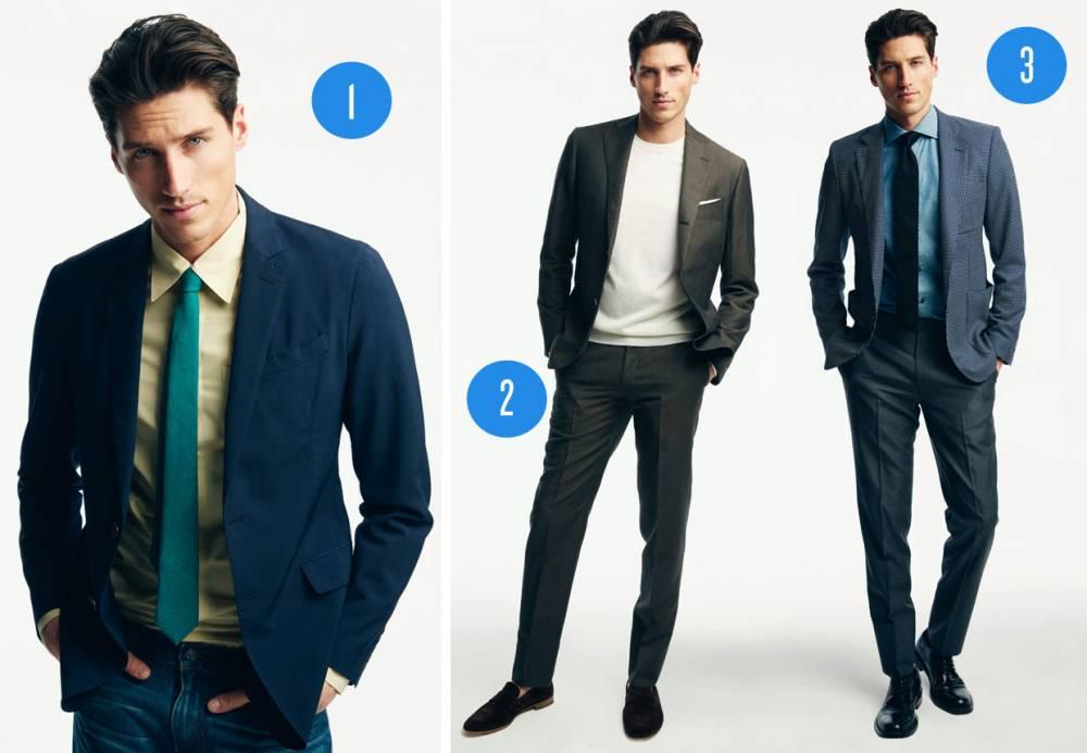Как красиво одеть мужчину