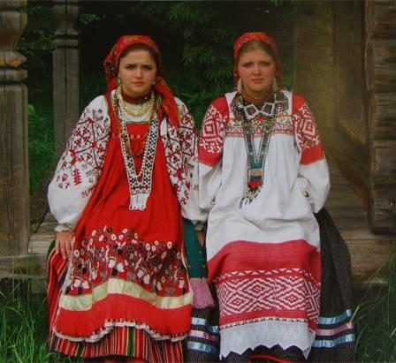 Как одевались на Руси