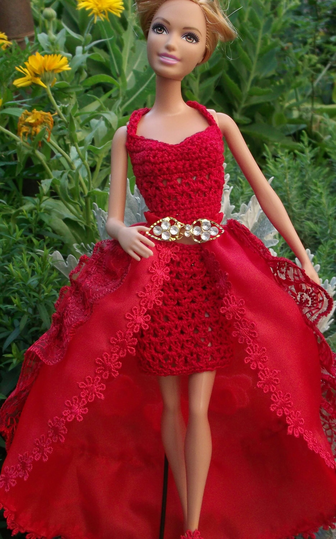Как создать бальное платье кукле