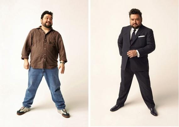 Как стильно одеть мужчину большого размера