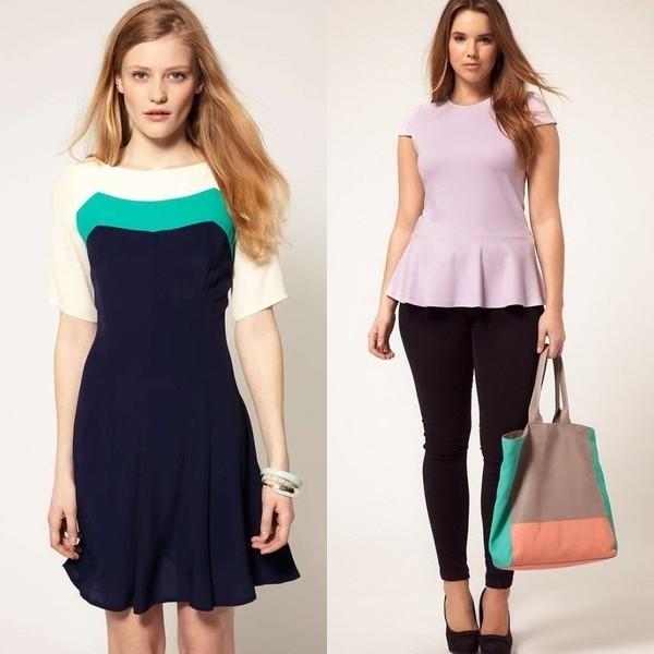 Как выбрать оттенки платья