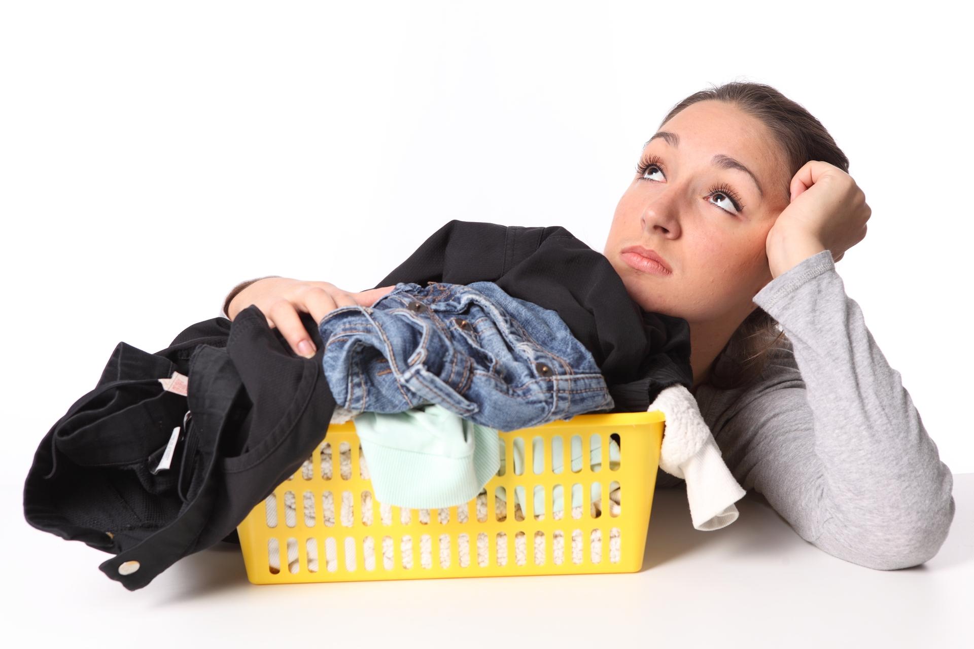 Как вывести пятно на одежде