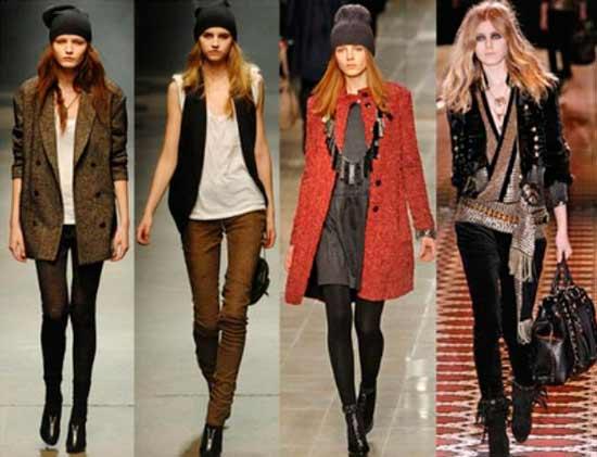 Коллекция теплой одежды