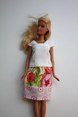 Костюм для куклы барби