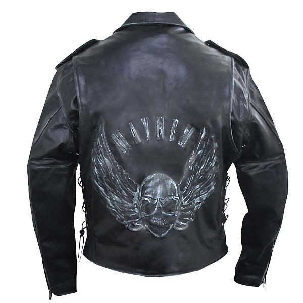 Кожаная куртка для мужчины