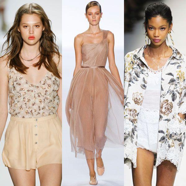 Красота романтического стиля одежды
