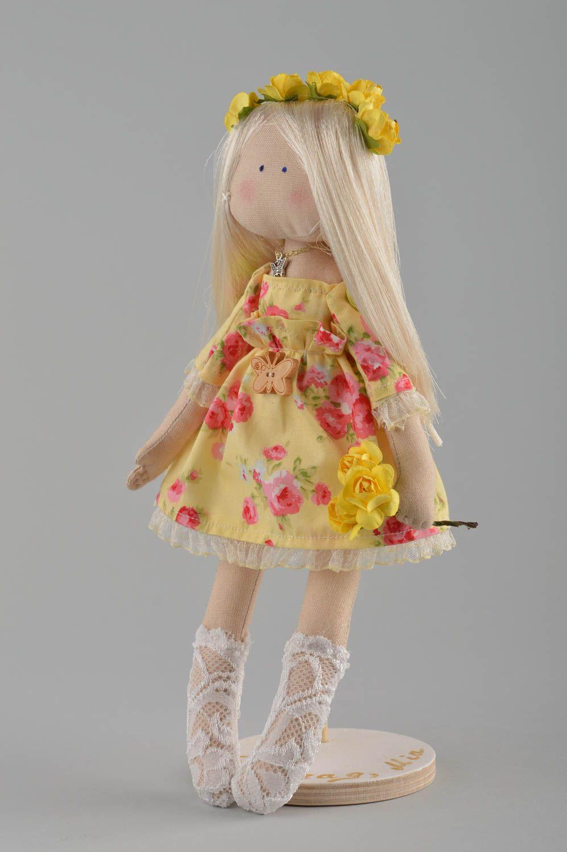 Кукольное платье в стиле кантри
