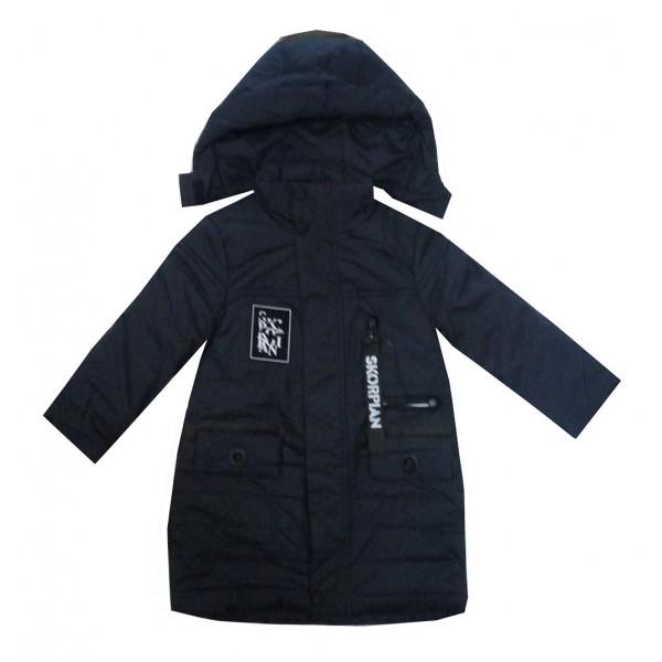 Куртка черная дл мальчика