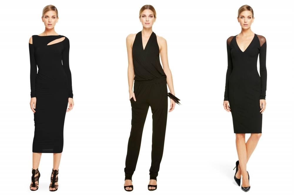 Лаконичность черного цвета одежды