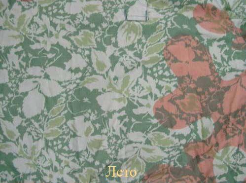 Лиственный лес расцветка одежды