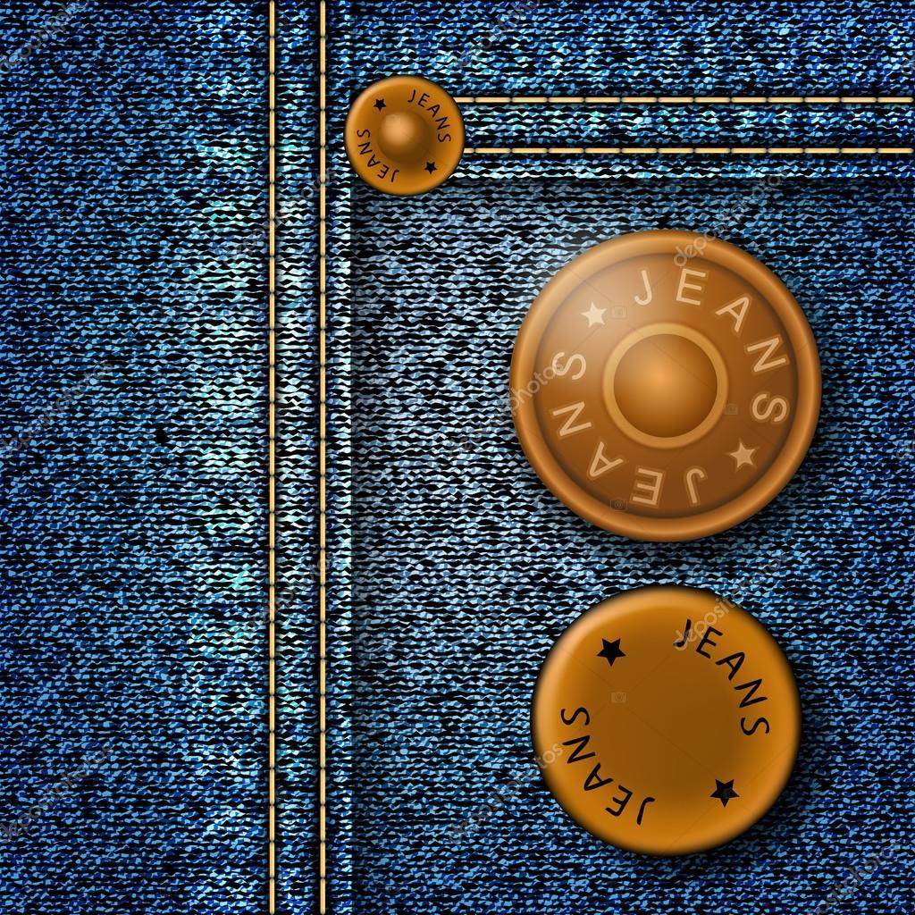 Металлические кнопки для джинс