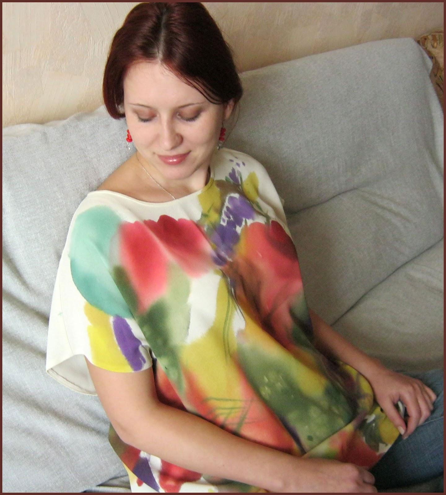Методы создания рисунка на ткани