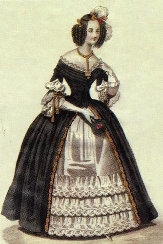 Мода второй половины 1830