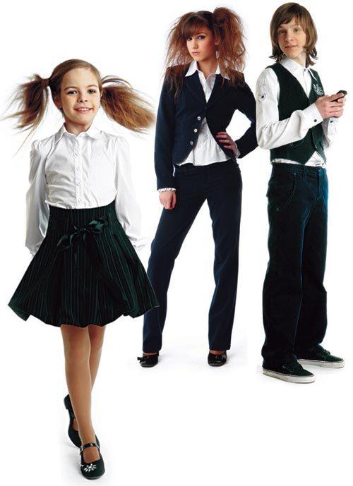 Модная Одежда для школьниц
