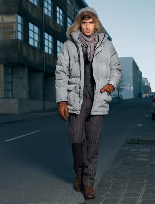 Модная серая куртка из Финляндии