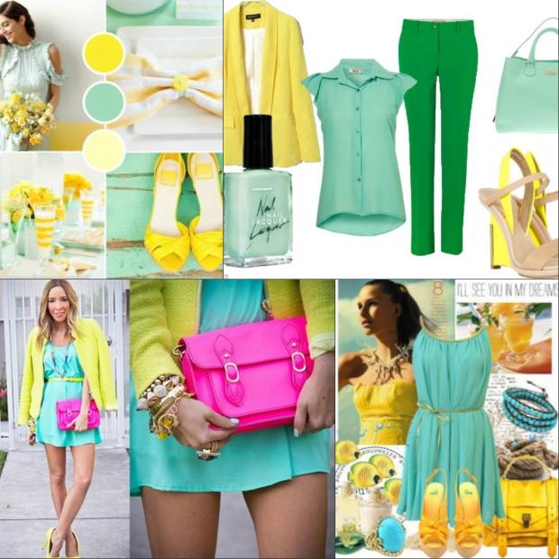 Модное комбинирование одежды