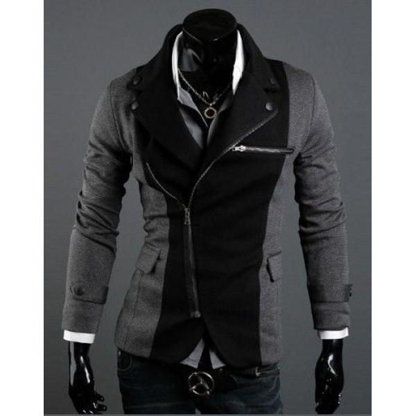 Модное мужское пальто - пиджак