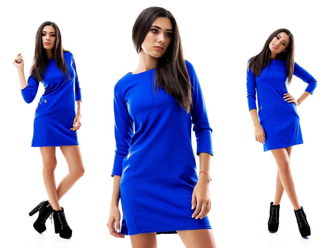 Модное женское платье мини