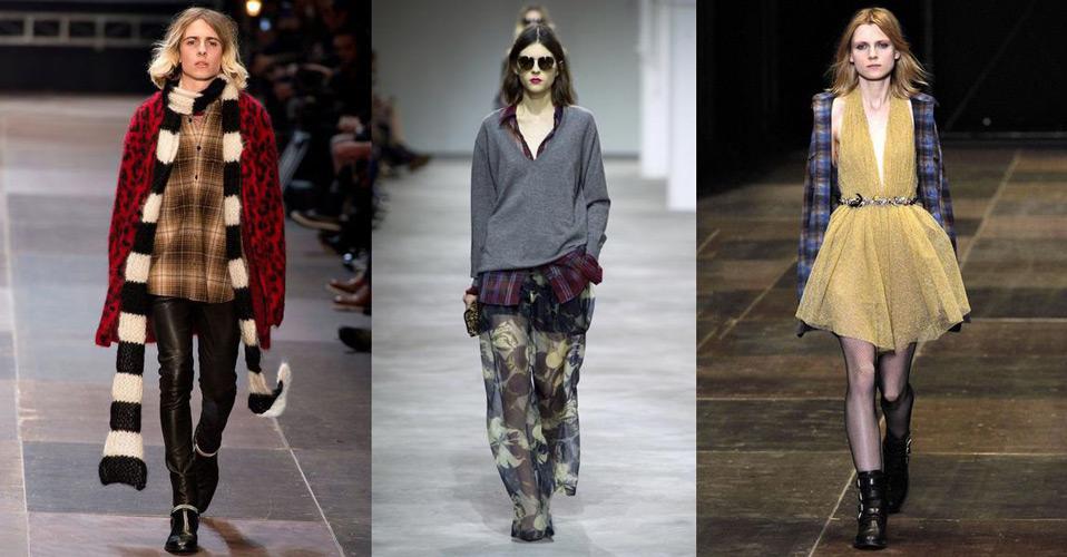Модные образы в стиле гранж